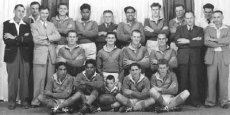 1954 Rugby League football competition winners Date of photograph: 1954