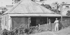 Original Nambucca Heads Post Office premises. The first of three. Date of photograph: probably late 1920's