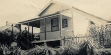 The second Nambucca Heads Post Office closed in 1958 Date of photograph: unknown