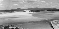 "Looking down upon the Nambucca Heads ""Vee Wall"" Date of photograph: Approx 1958"