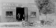 Wally Williams Garage in Bowraville Date of photograph: about 1919