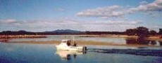 Early dawn fishing boat departure  © 2001 Photo by Barbara O'Bryan
