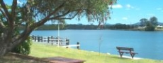 River Road Reserve in Macksville © 1999 Photo by Nambucca Graphics