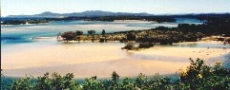 The Nambucca River joins Warrell Creek © 1999 Photo by Nambucca Graphics