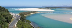 Ocean entrance to Nambucca River © 2005 Photo by Nambucca Graphics
