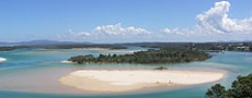 Small islands on Nambucca River  © 2005 Photo by Nambucca Graphics