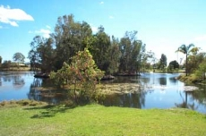 Lake Park in Princess Street Macksville