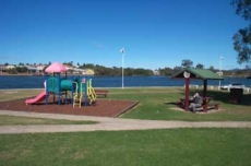 North Macksville Park at north end of Macksville bridge