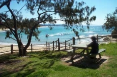 Shelley Beach Reserve in Nambucca Heads